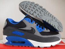 NIKE AIR MAX 90 ID BLACK-GREY-BLUE-WHITE SZ 11.5 MESH TOE!! [931902-993]