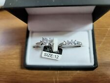 set sterling silver New listing Heart wedding ring