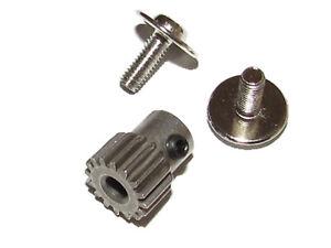 Traxxas 37054-1 RUSTLER 2wd XL-5 TRA2416 Pinion 16T Gear TRA3185X Motor Screws