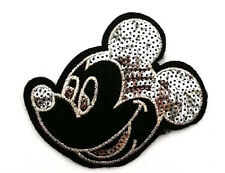 Mickey Mouse - Disney - Cartoon - Sequin Iron On Applique Patch