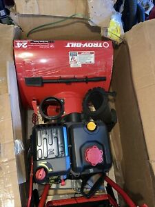 Troy-Bilt STROM 2410 Electric Snow Blower - 31BS6BN2711 W/(Free $50 Tire Chains)