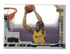 KOBE BRYANT NBA 2000-01 UPPER DECK SLAM POWER WINDOWS (LOS ANGELES LAKERS)