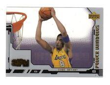 Kobe Bryant NBA 2000-01 Upper Deck Slam ventanas eléctricas (Los Angeles Lakers)