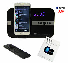 Soundsystem Uhr Bluetooth Radio f Samsung Galaxy Alpha S2 S3 S4 S6 S7 Grand 10 W