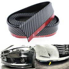 Rubber Carbon Fiber Printed Front Bumper Lip Splitter Protector Trim for Subaru