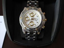 SECTOR Automatic Chronograph Valjoux 7750 BOX   PAPER MINT CONDITION