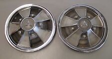 Mopar Mag Style Wheel Hub Caps Dodge R/T 14 Inch Set of 2 J10320