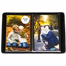 "Compact Portfolio Photo Bookshelf Albums Album Holds 48 Pictures - 5x7 Saver """