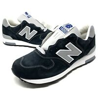 New Balance J Crew X 1400 Collab M1400NV Navy Silver Made In USA Men's Size 12.5