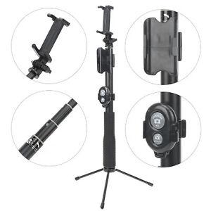 Selfie Stick Phone Clip Tripod Remote Control For GoPro/DJI OSMO Pocket 2 Camera