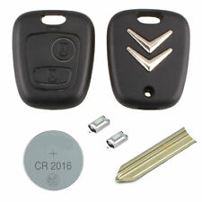 Citroen DIY Repair kit 2 button Replacement Car Key Case Fob with SX9 Blade
