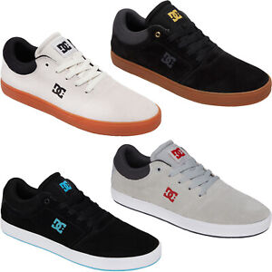 DC Shoes Mens Crisis Leather Low Top Skater Trainers Sneakers Shoes