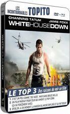 White house down (Tatum, Foxx, Gyllenhaal) BLU-RAY STEELBOOK + DVD NEUF