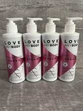 4 Count Love AnyBody 8 Oz Stretch Mark Cream Hyaluronic Acid Vit E Cocoa Butter
