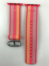 Original Apple Watch Series 4 3 2 1 Woven NYLON Band 38MM 40MM strap Red stripe