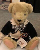 "VanderBear Fuzzy Bear  13""- Portrait in Black and White"