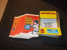 Unopened 1981 Topps Home Team Super Chicago Cubs White Sox 5x7 Lot of 28 Packs