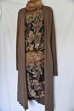 Per Una Specialize Italian designer 100% silk tunic dress, bubble hem Rrp £180