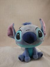 "Disney Lilo & Stitch Big Head plush clip 6"" Stitch NEW"