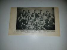 University of Wisconsin Badgers 1902 Baseball Team Picture Rare!