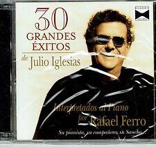 Rafael Ferro Al Piano 30 Grandes  Exitos de Julio Iglesias BRAND  NEW SEALED  CD