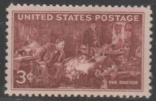 US 949 Doctors 3c single (1 stamp) MNH 1947
