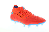 Puma Future 19.2 Netfit FG AG 10553601 Mens Red Athletic Soccer Cleats Shoes