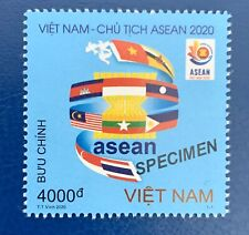 Vietnam 2020 Asean Chairmanship Leading nCoV Fight Stamp Mnh Vn 1123 Specimen