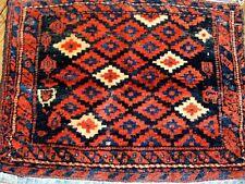 1900 Antique Kurdish Bag Face Great Colors