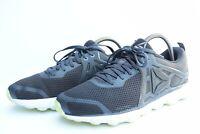 REEBOK HEXAFFECT RUN 5.0 MTM BS8634 Mens Running Shoes Coal Grey Green sz 8