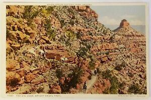 The Zig Zags Bright Angel Trail Grand Canyon National Park Arizona Postcard