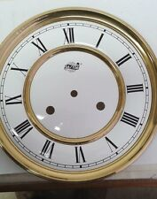 Westminster-Hermle clock dial for 141 mov ,brass vienna regulator style 200mm