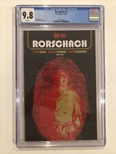 Rorschach #1 CGC 9.8 main cover Watchmen TOM KING