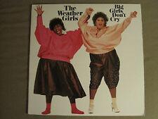THE WEATHER GIRLS BIG GIRLS DON'T CRY LP ORIG '85 DISCO FUNK SOUL R&B NM/MINT-