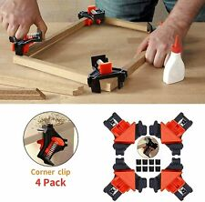4 piece CORNER spring clamps for wood working Picture Frame Corner Clamp
