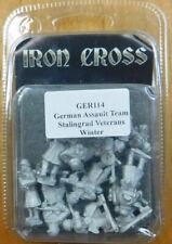 Great Escape Games:Iron Cross: German Stalingrad Vet.Assault Sq–(Ger114)(10)