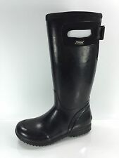 Bogs Womens Black Rubber Rainboots 6