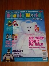 MARY BETHS BEANIE WORLD MONTHLY JANUARY 1999 VOL 2 #1 MARIO BATMAN UK MAGAZINE =
