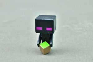 "Minecraft Enderman Chest Series Mattel Mini Figure 1"" Mojang"
