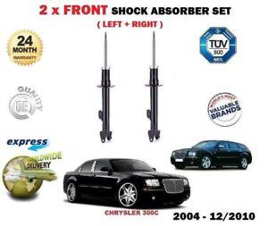 FOR CHRYSLER 300C 2005-12/2010 2x FRONT LEFT + RIGHT SHOCK ABSORBER SHOCKERS SET