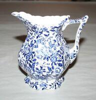 Vintage Japanese Enesco Blue & White Creamer