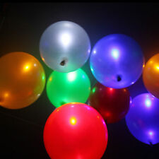 30 Pcs Helium Air Mixed Colors LED Balloons Wedding Light Up Decoration Party