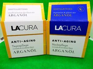 Lacura Anti-Aging Arganöl Tages- oder Nachtpflege (9,98€/100 ml)