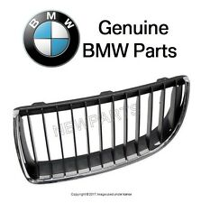 BMW E90 E91 Front Driver Left Chrome Frame Grille 51 13 7 120 007