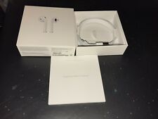 Original Apple AirPods Box & Lightening Cable ONLY (NO EAR BUDs) Free INT'l S/H