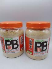 2 Organic PB Fit Peanut Butter Powder All Natural Gluten Free Protein 30 oz each
