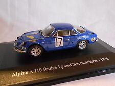 RENAULT ALPINE A 110 DU RALLYE LYON - CHARBONNIERES DE 1970