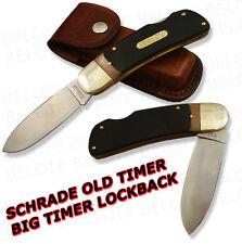 Schrade Old Timer DELRIN Big Timer Lockback Knife 51OT