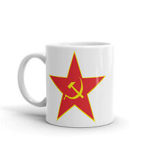 Hoz y martillo 10oz de alta calidad té café taza #5544