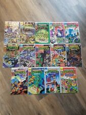Archie Teenage Mutant Ninja Turtles Adventures #1-5, 7-12, 20, 22 1989 FN/VF